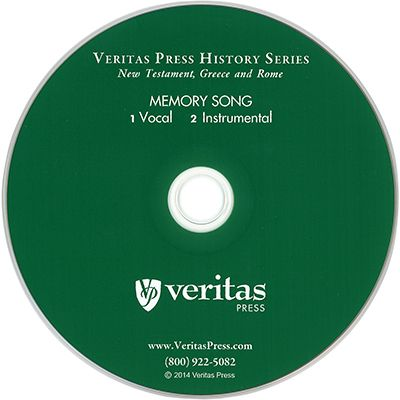 New Testament, Greece, and Rome Memory Song CD