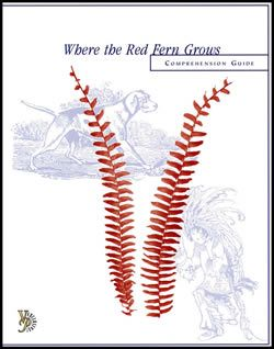 Where the Red Fern Grows Comprehension Guide (eBook)