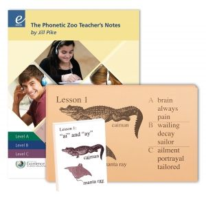 Budget Package Kit: Excellence in Spelling: The Phonetic Zoo Budget Package