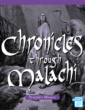 Chronicles to Malachi Teacher's Manual (eBook)