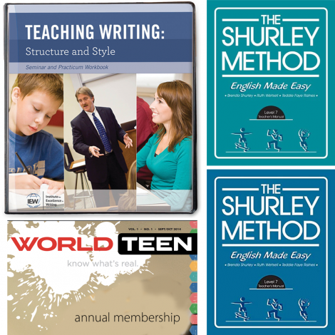 Grammar & Writing 6 - Live Course Kit