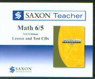 Saxon Math 65 Homeschool Teacher CD's, 3rd Ed.