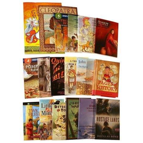New Testament, Greece & Rome Self-Paced - Combined - Literature Kit
