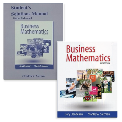Business Math - Live Course Kit