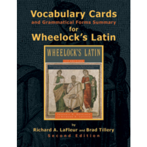 Vocabulary Cards and Grammatical Forms Summary for Wheelock`s Latin