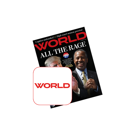 WORLD Magazine Annual Membership for Students